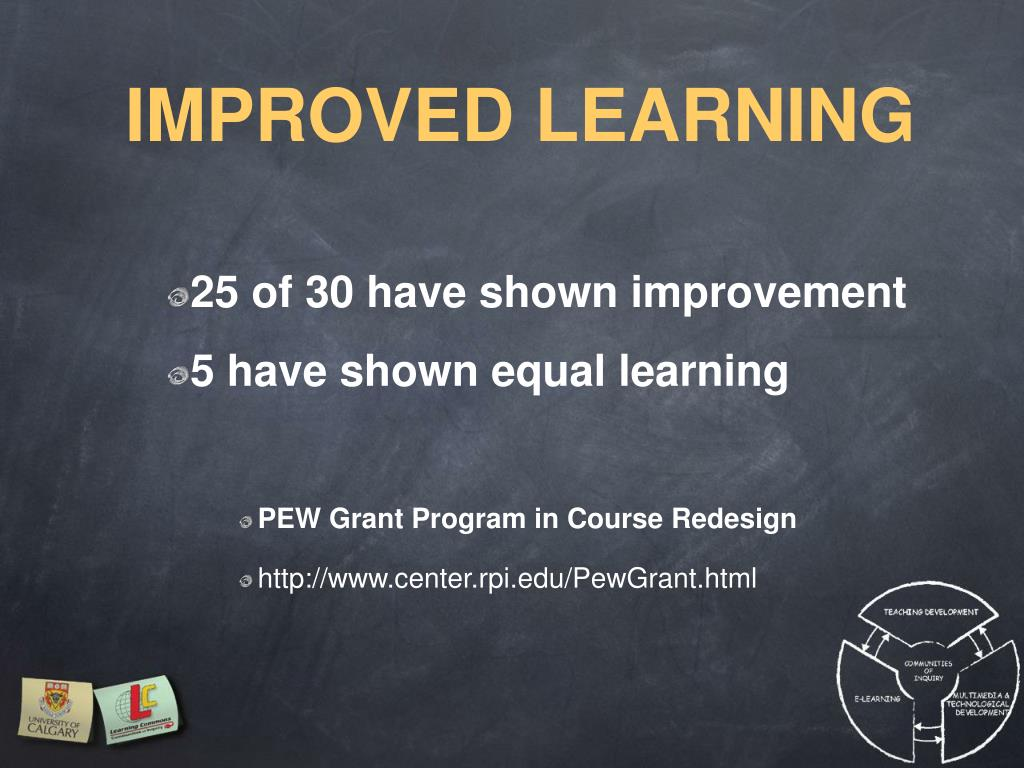 IMPROVED LEARNING