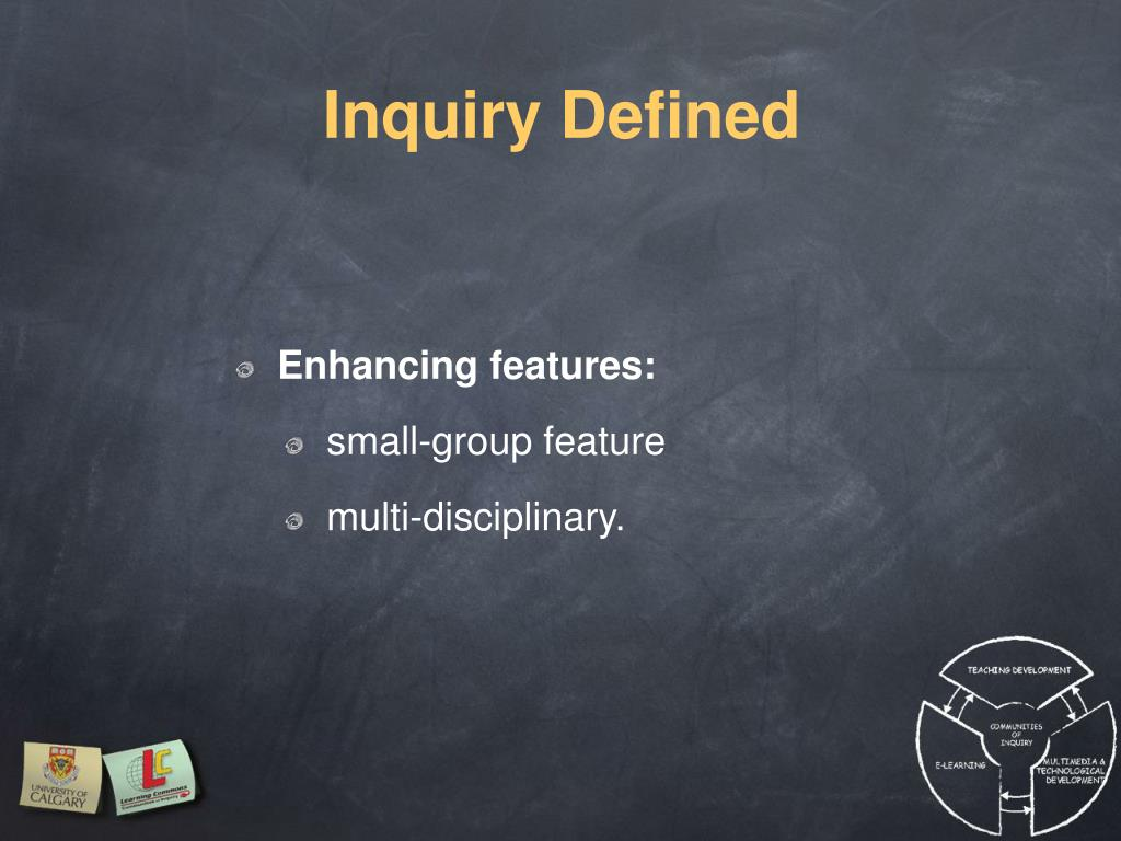 Inquiry Defined