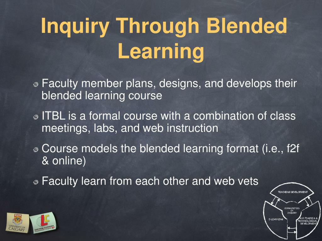 Inquiry Through Blended Learning