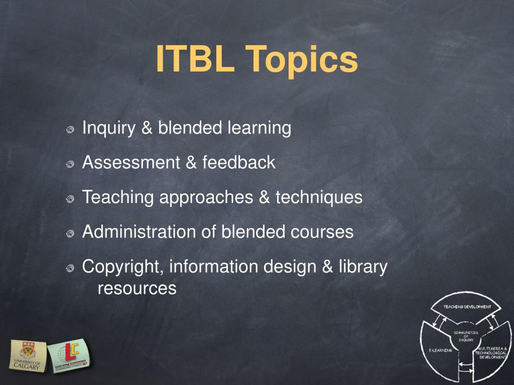 ITBL Topics
