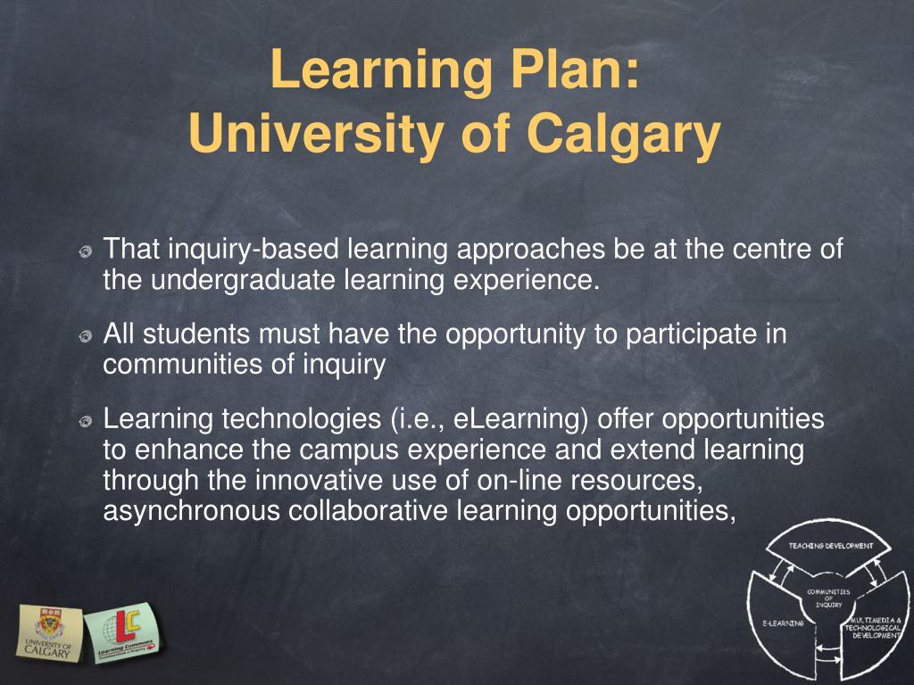 Learning Plan: