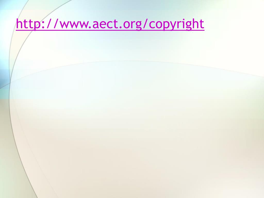 http://www.aect.org/copyright