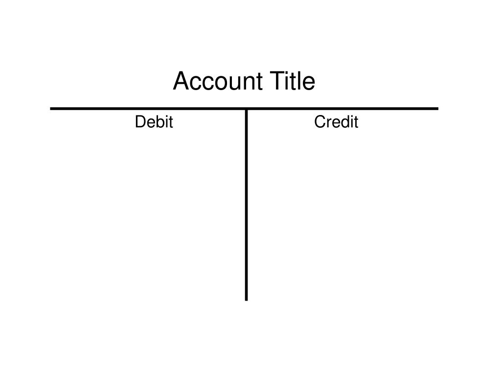 Account Title