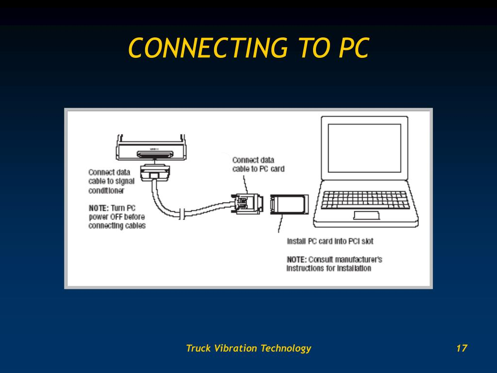 CONNECTING TO PC