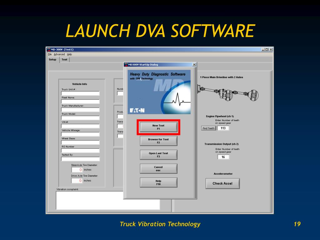 LAUNCH DVA SOFTWARE