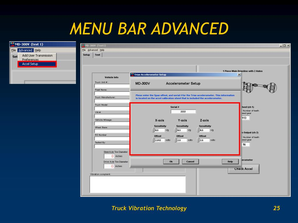 MENU BAR ADVANCED