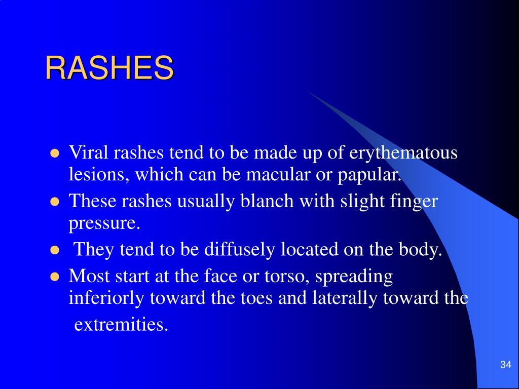 RASHES