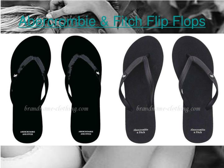 Abercrombie fitch flip flops3