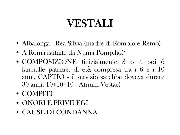 VESTALI