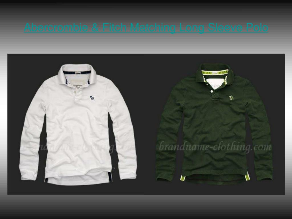 Abercrombie & Fitch Matching Long Sleeve Polo