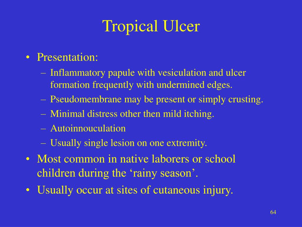 Tropical Ulcer
