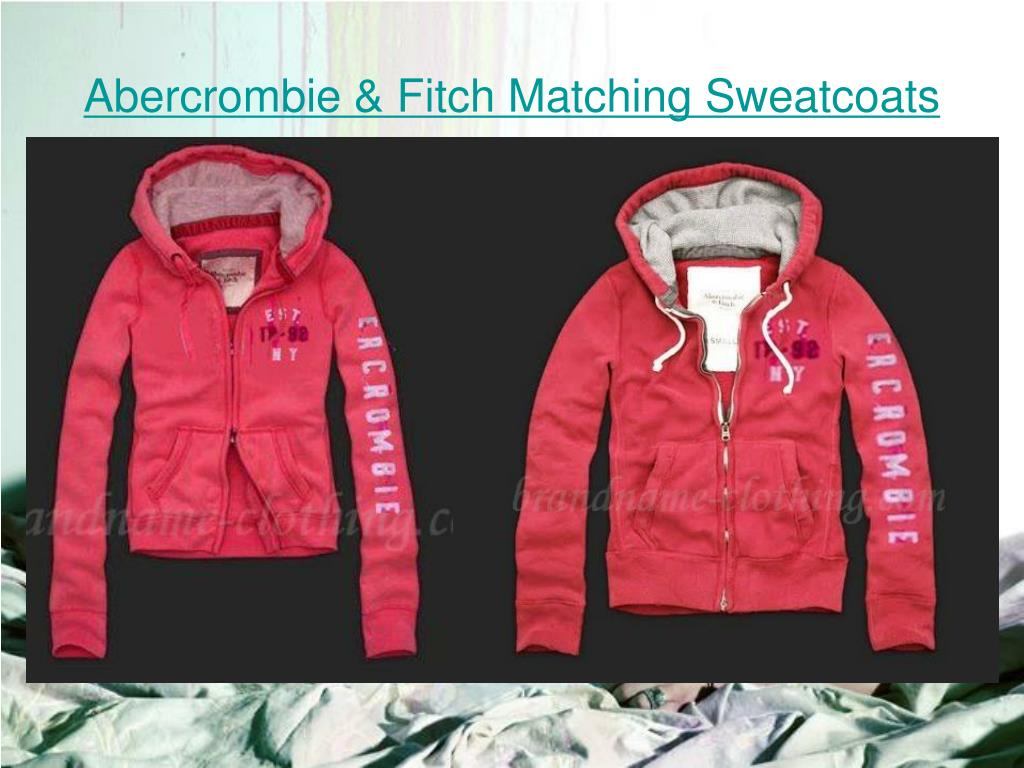 Abercrombie & Fitch Matching Sweatcoats