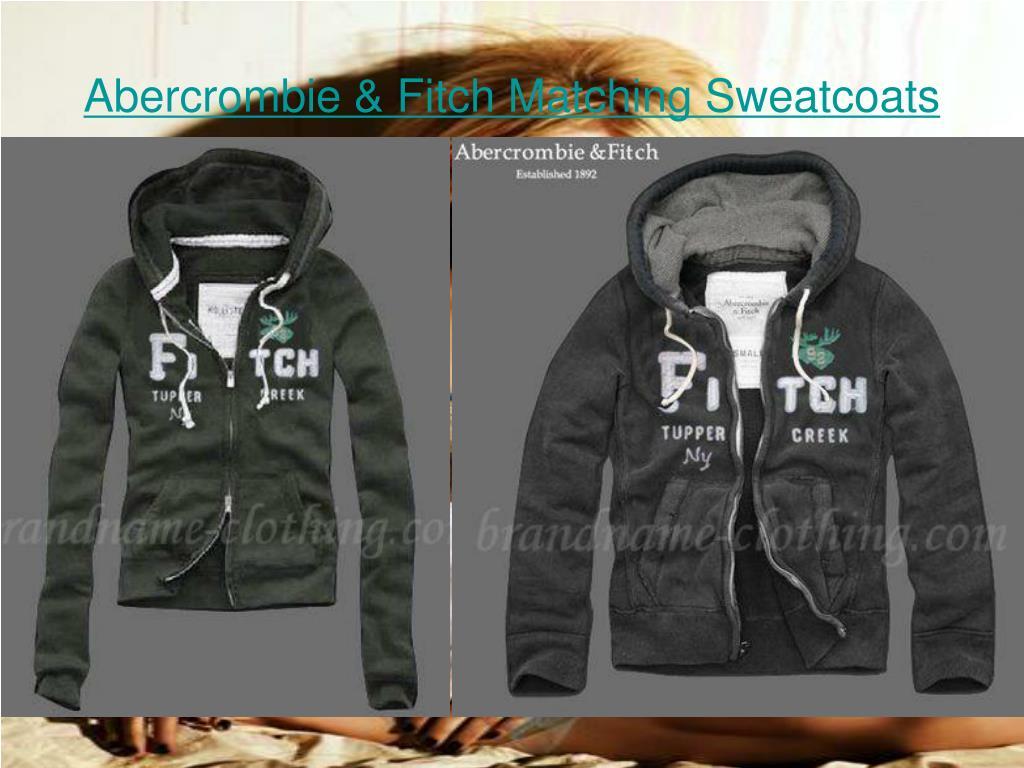 Abercrombie & Fitch Matching Sweatcoats