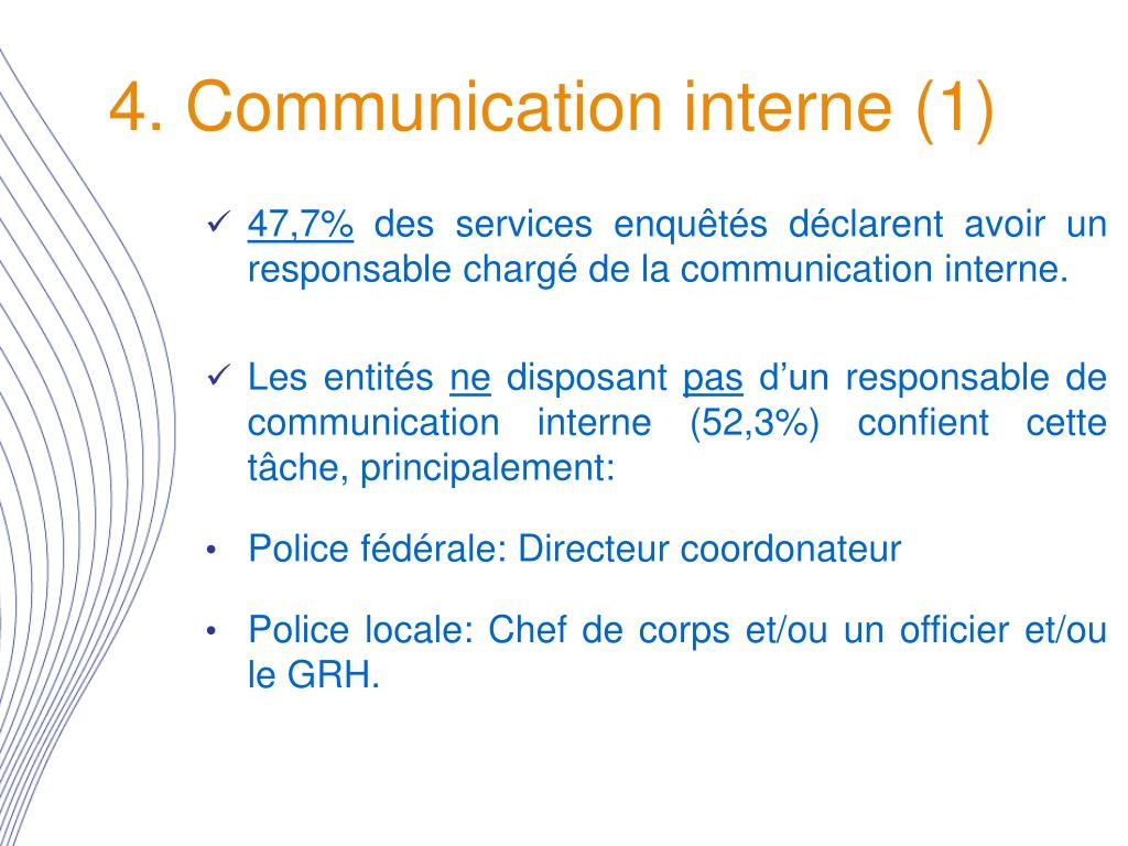 4. Communication interne (1)