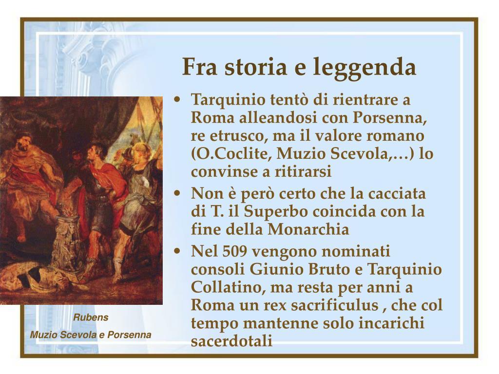 Fra storia e leggenda