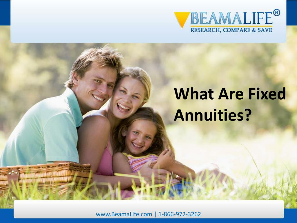 What Are Fixed Annuities?