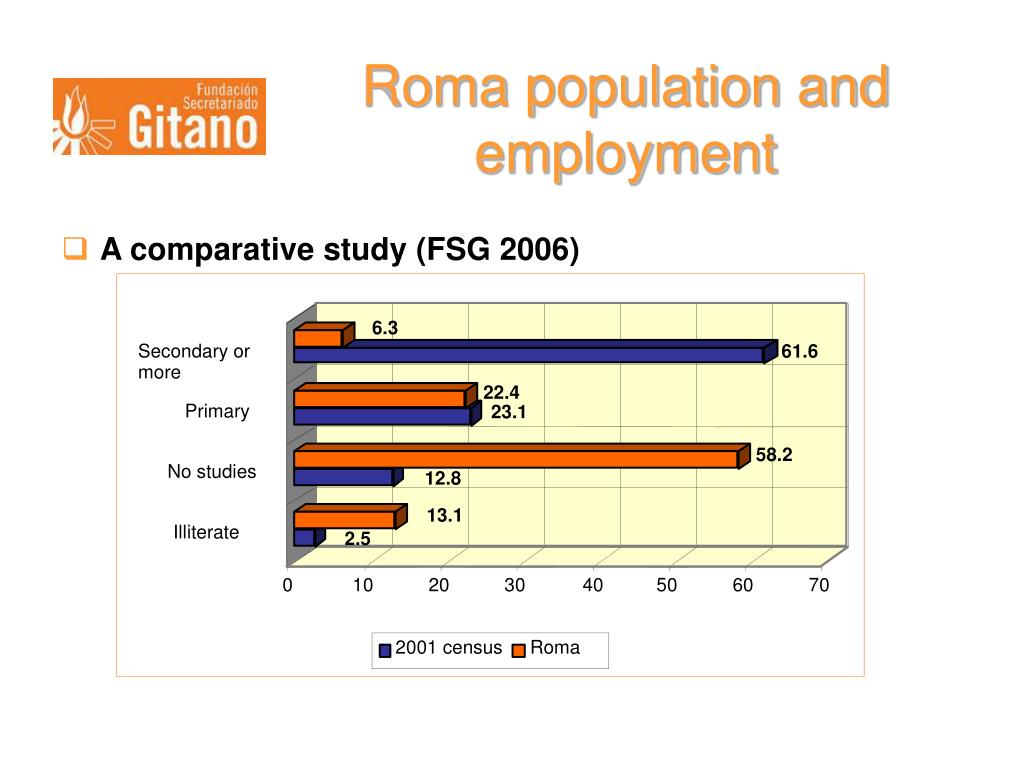 Roma population and employment