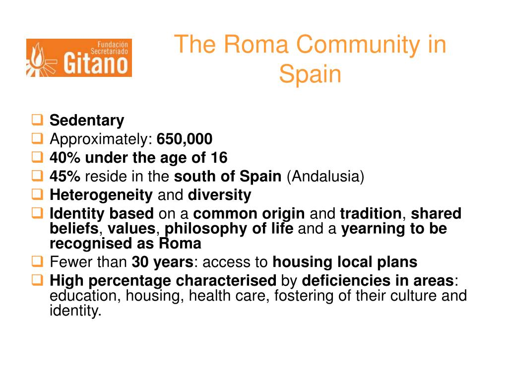 The Roma Community in Spain