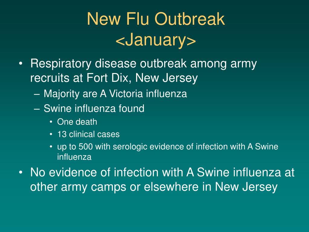 New Flu Outbreak