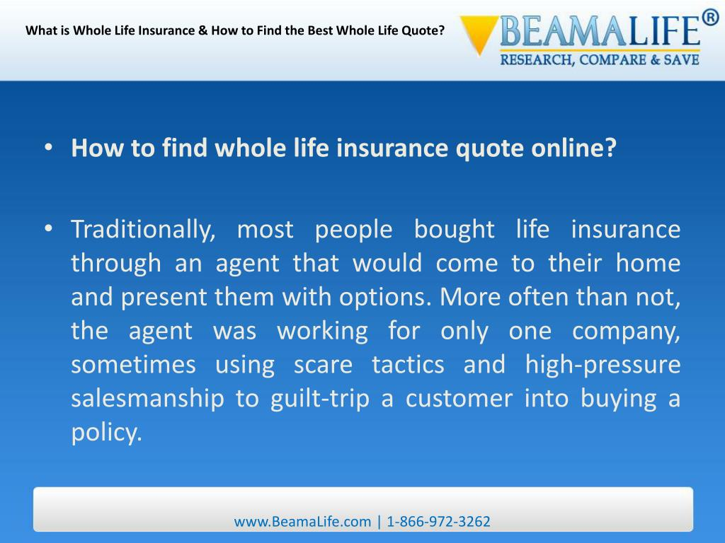 What is Whole Life Insurance & How to Find the Best Whole Life Quote?
