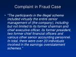 complaint in fraud case39