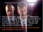 fastow s explanation of partnerships spes