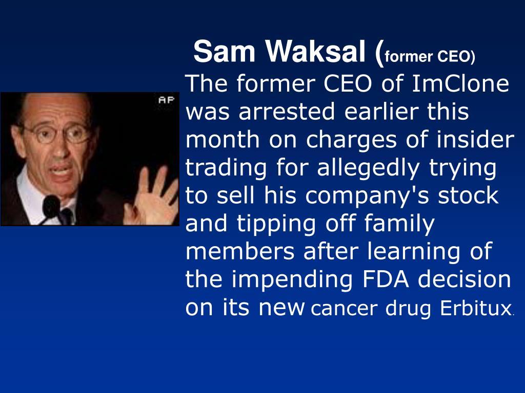 Sam Waksal (