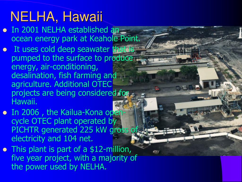 NELHA, Hawaii