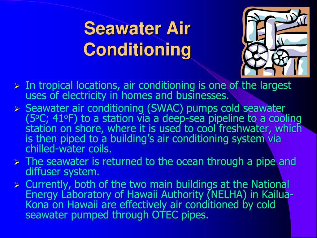 Seawater Air