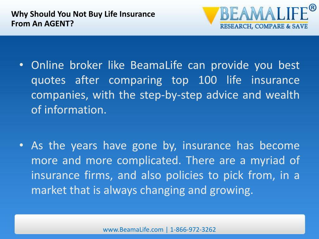 Why Should You Not Buy Life Insurance