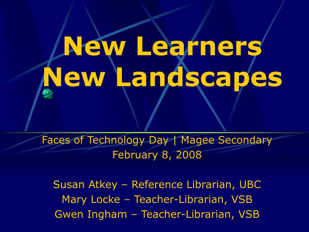 New Learners