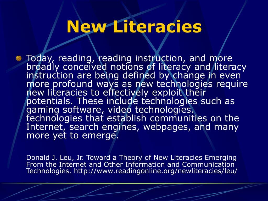 New Literacies