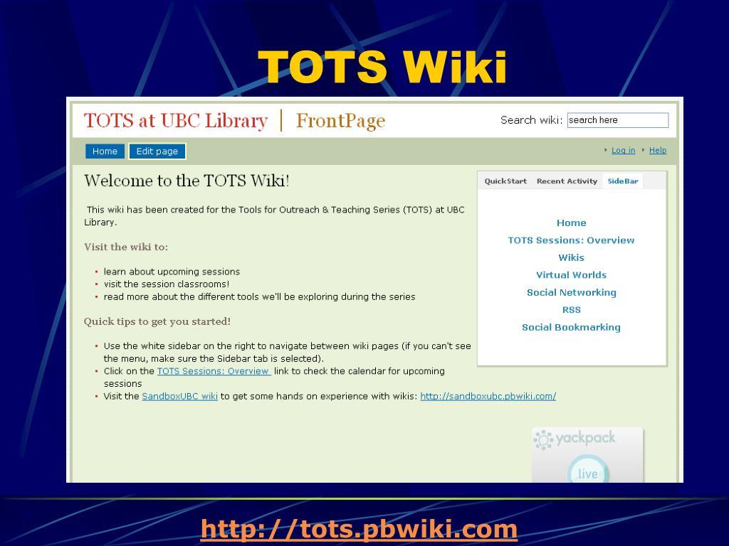 TOTS Wiki