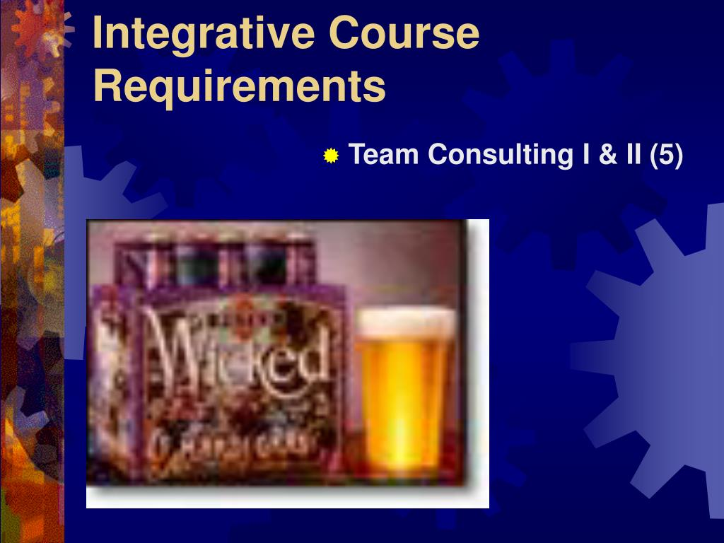 Integrative Course Requirements
