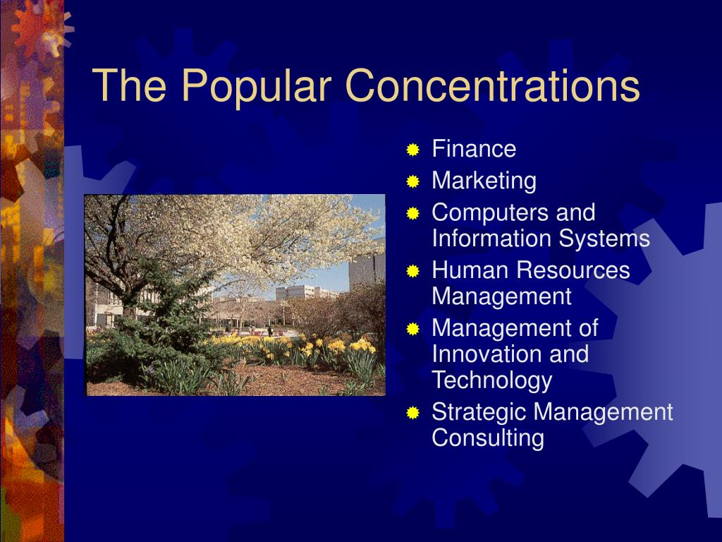 The Popular Concentrations
