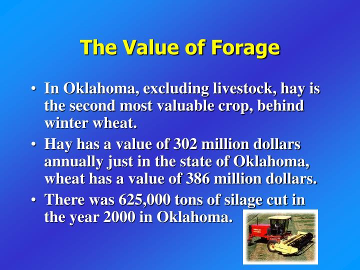 The value of forage l.jpg