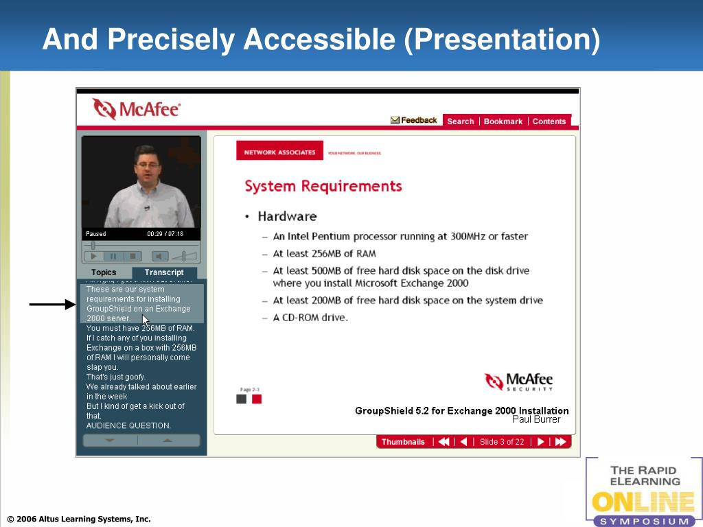 And Precisely Accessible (Presentation)