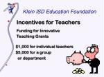 klein isd education foundation5