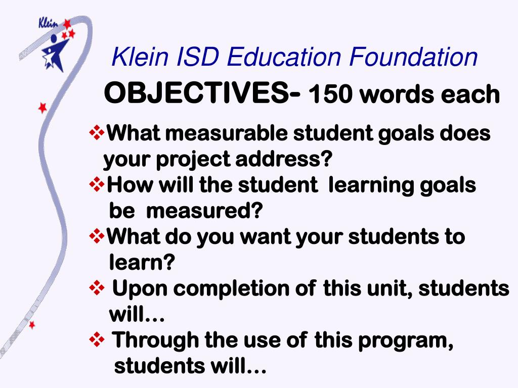 Klein ISD Education Foundation