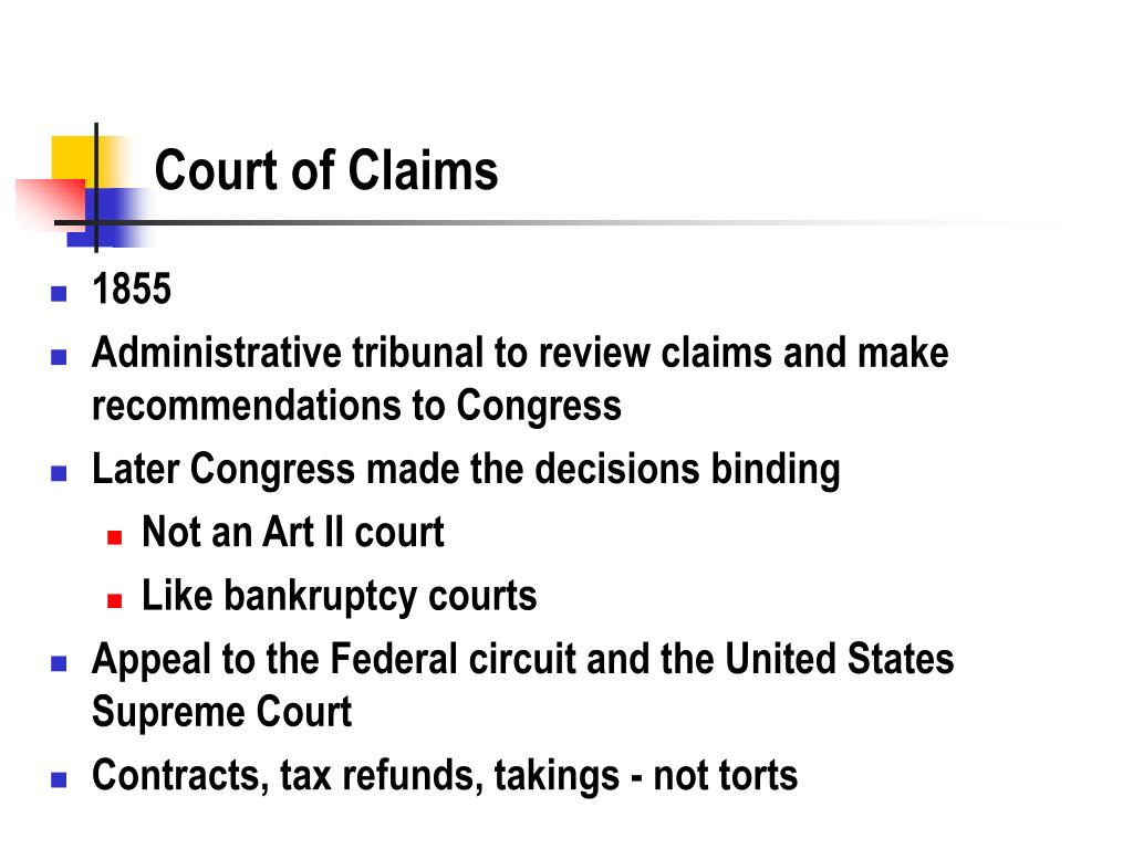 Court of Claims