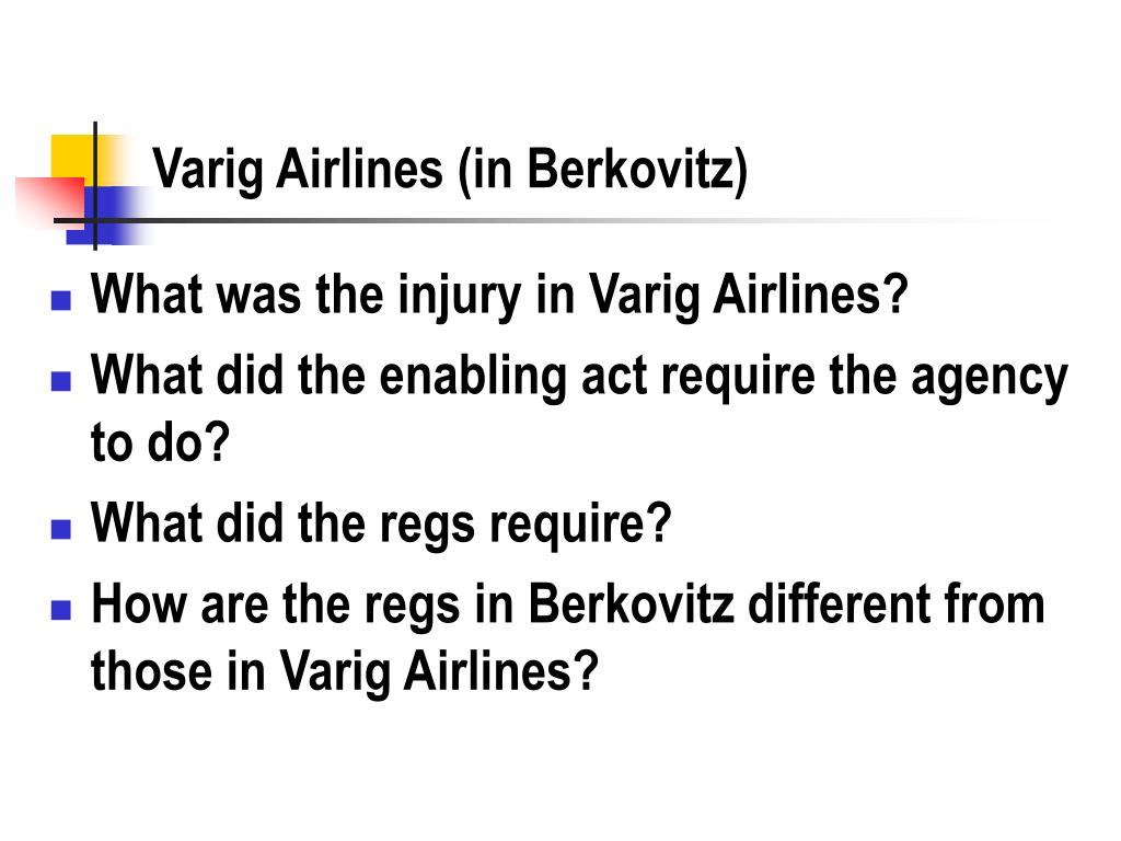 Varig Airlines (in Berkovitz)