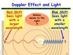 doppler effect and light