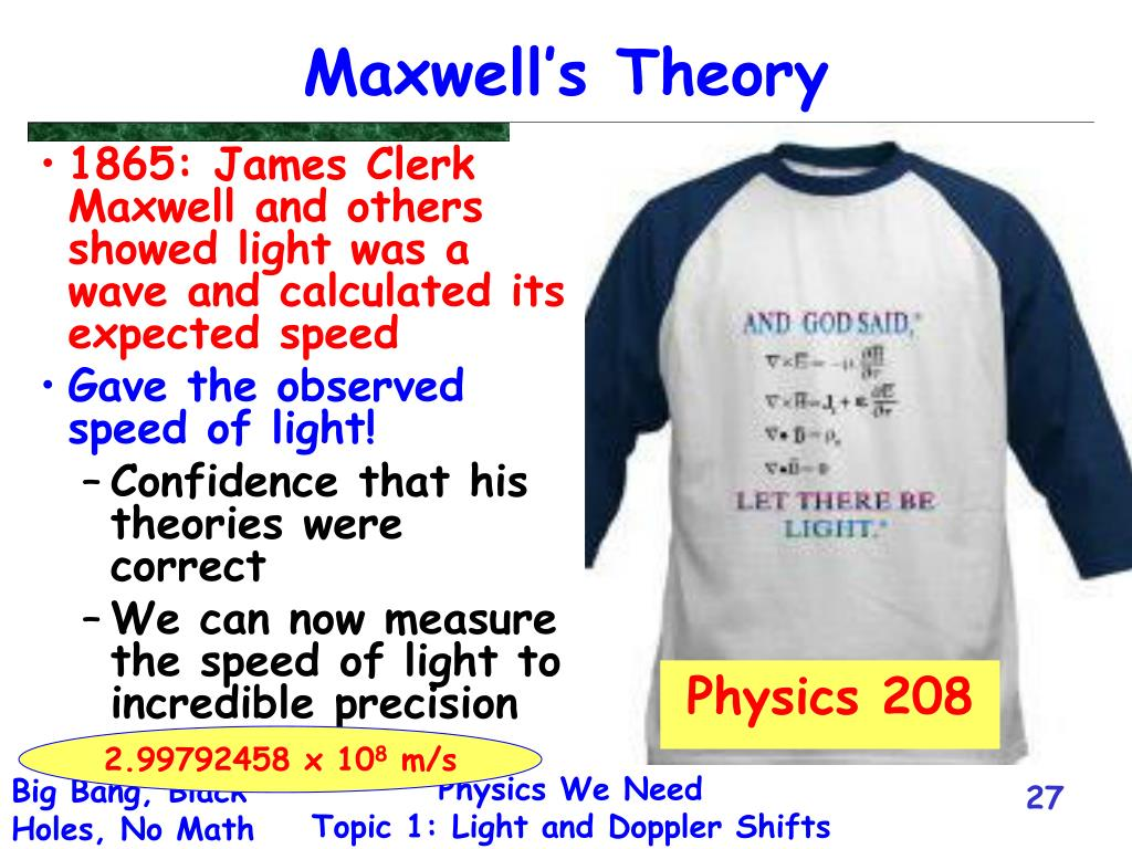 Maxwell's Theory