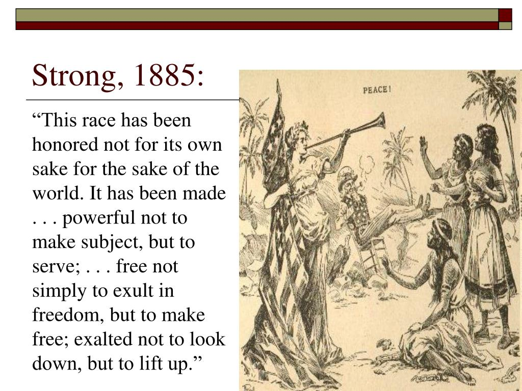 Strong, 1885: