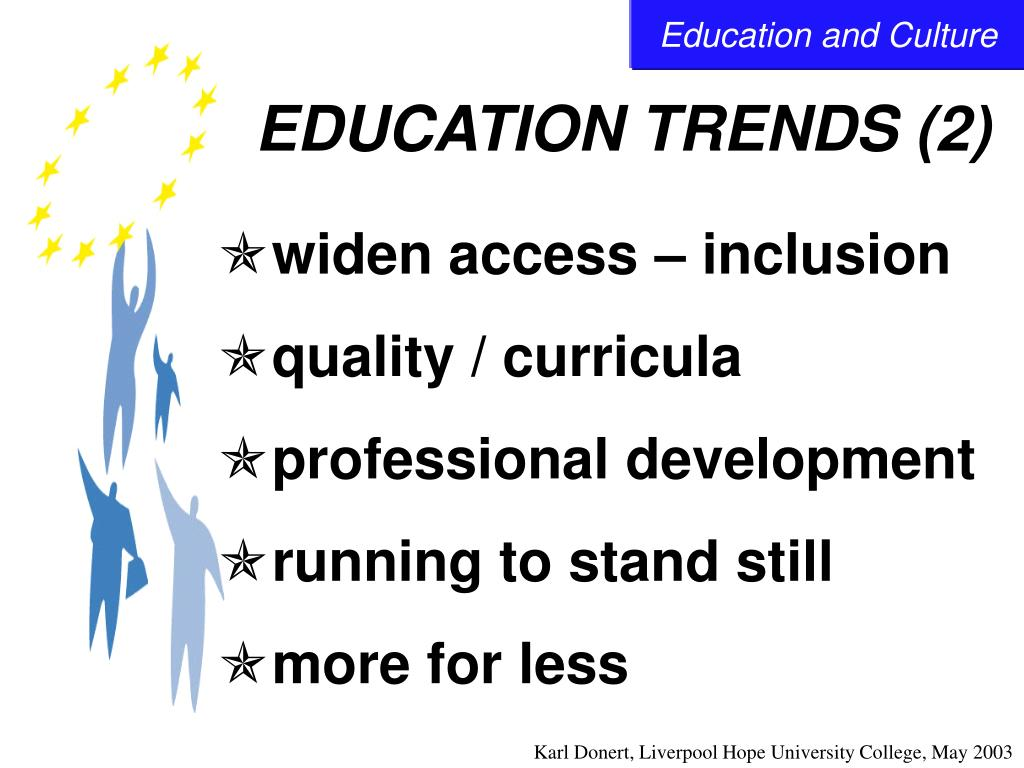 EDUCATION TRENDS (2)