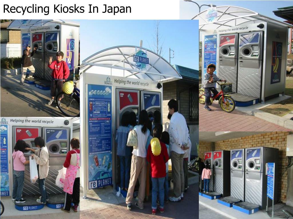 Recycling Kiosks In Japan