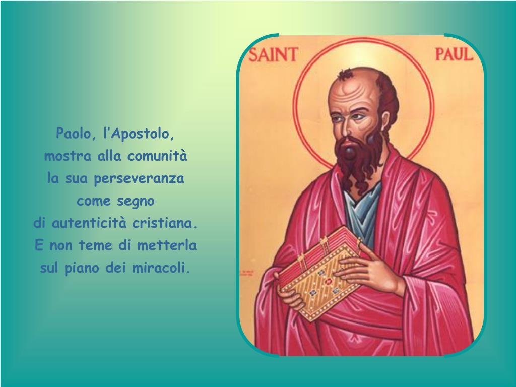 Paolo, l'Apostolo,