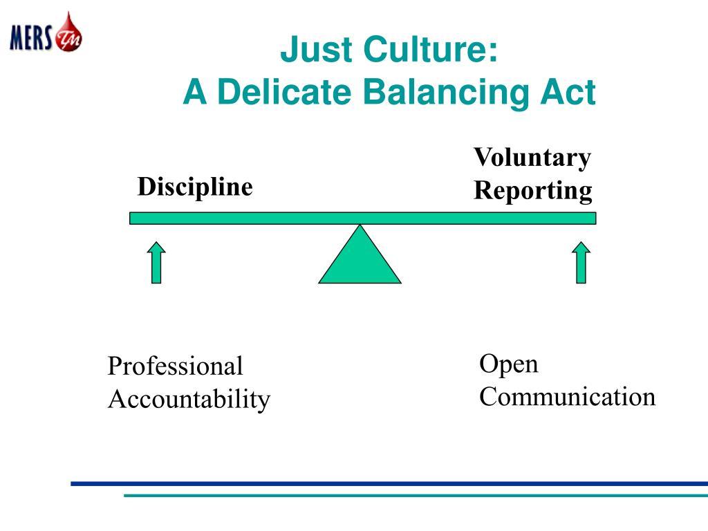 Just Culture: