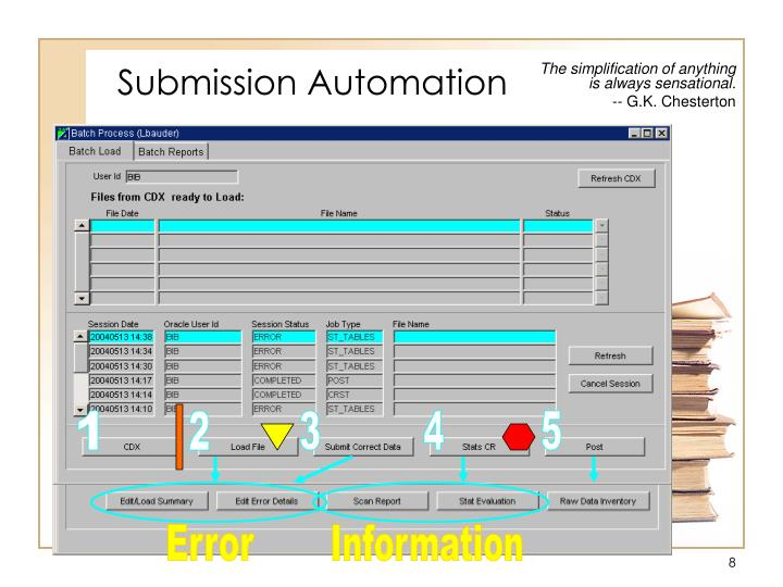 Submission Automation