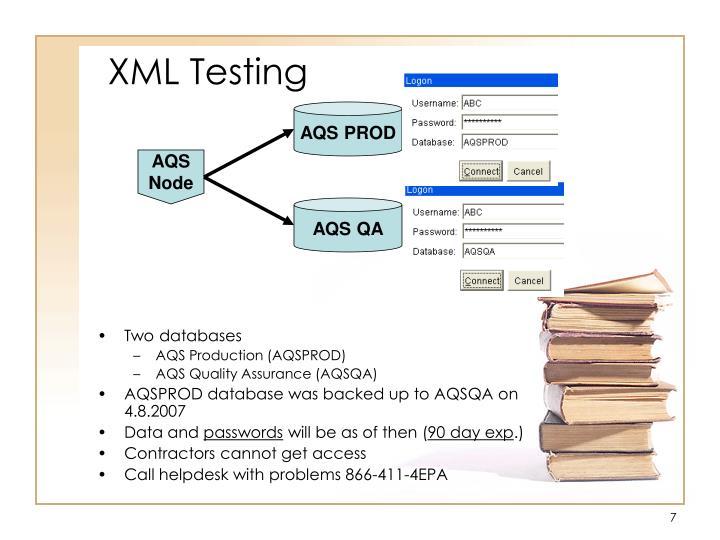 XML Testing